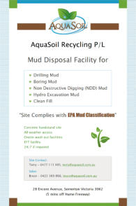 Aquasoil Recycling
